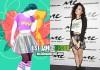 Charli XCX e seu personagem em Just Dance 2015