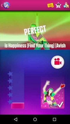 Perfect no Just Dance Now