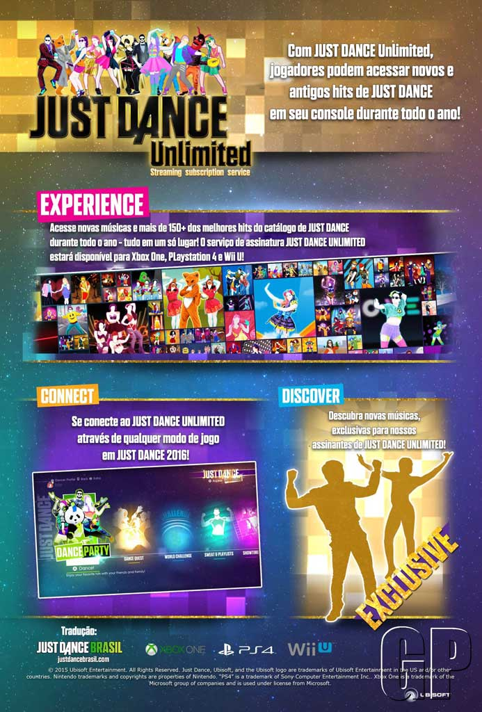 Just Dance Unlimited: conheça mais! - Just Dance Brasil